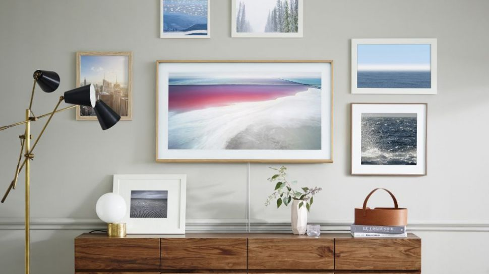 Should TVs ever replace the art in our homes?