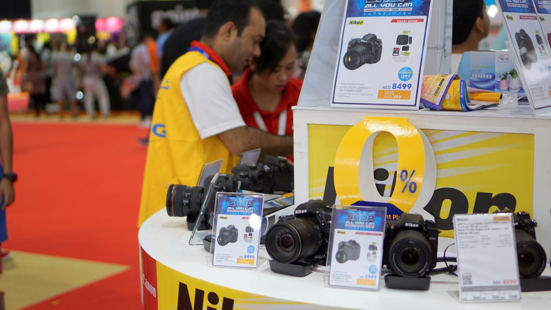 Best camera deals and offers at GITEX Shopper 2017