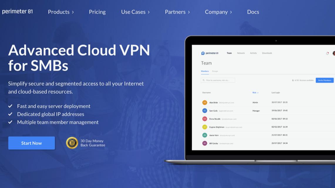 Los mejores proveedores de VPN empresariales