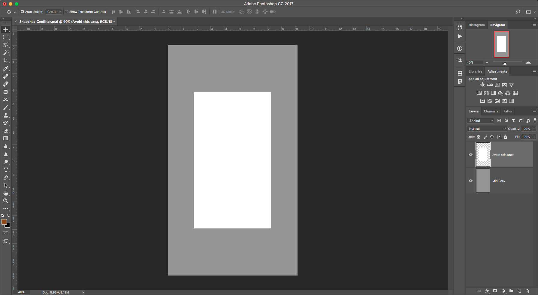 once open double click the background layer in your layers panel and delete it so youre starting with a transparent layer generally snapchat likes you