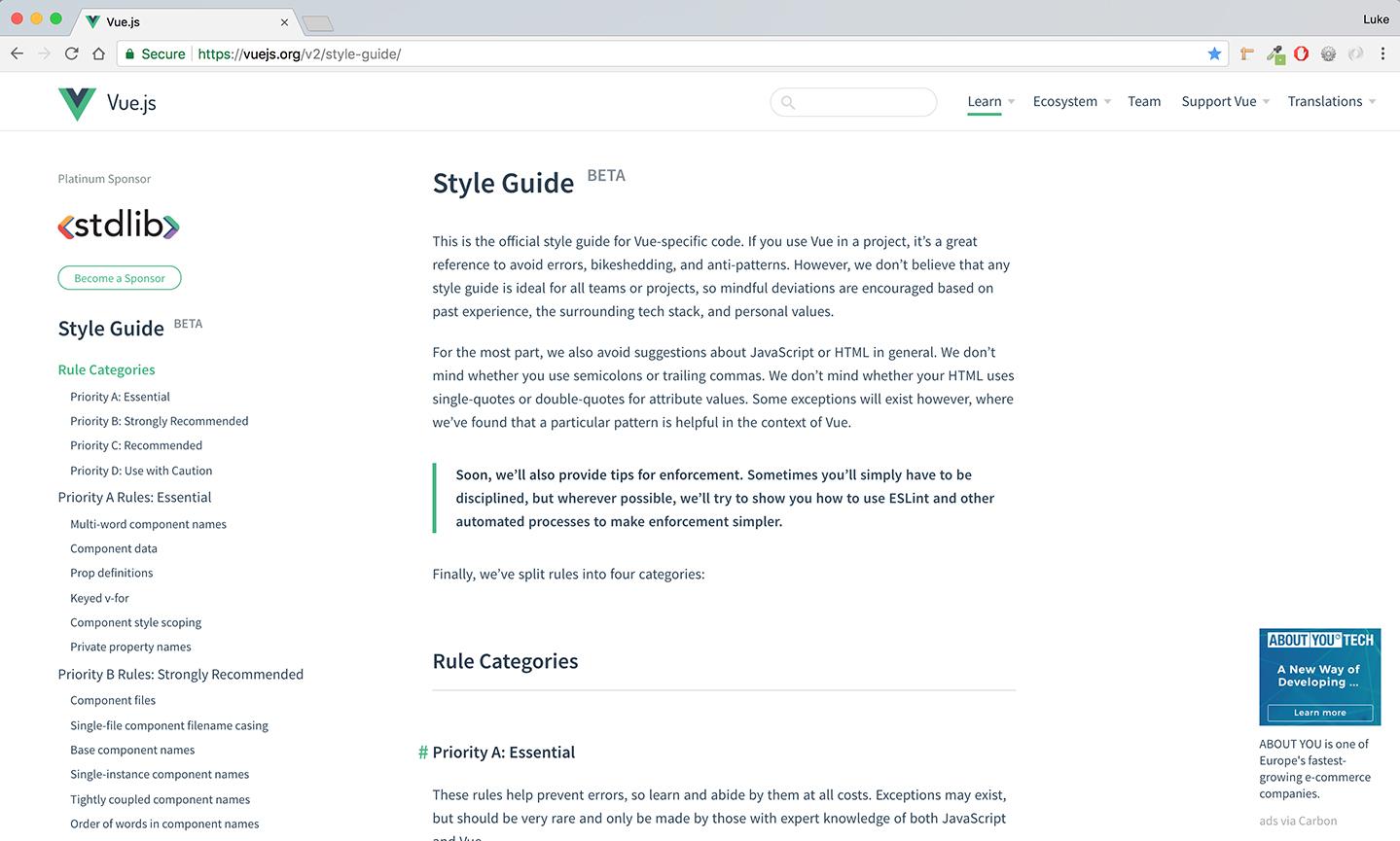 Create a flexible carousel component - Graphic Design