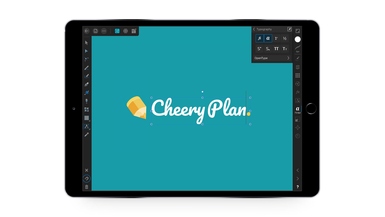 affinity designer for iPad app