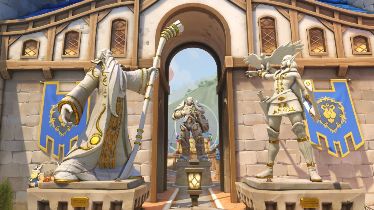 Blizzard World, the Overwatch theme park map, will go live next week