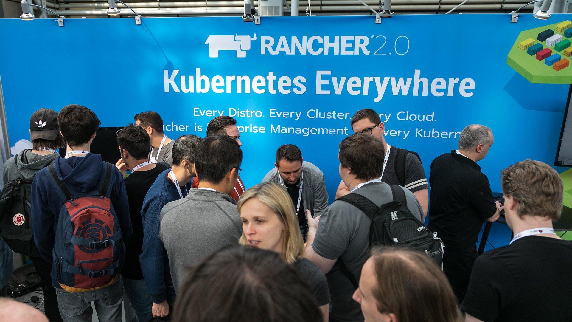 Rancher Labs at KubeCon in Copenhagen