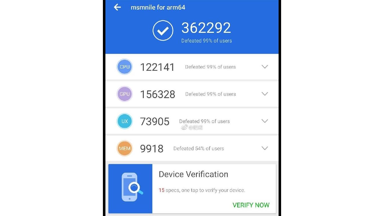 Snapdragon 8150 benchmark suggests 2019 NRyVbnRSG5zC6iiwSBbz
