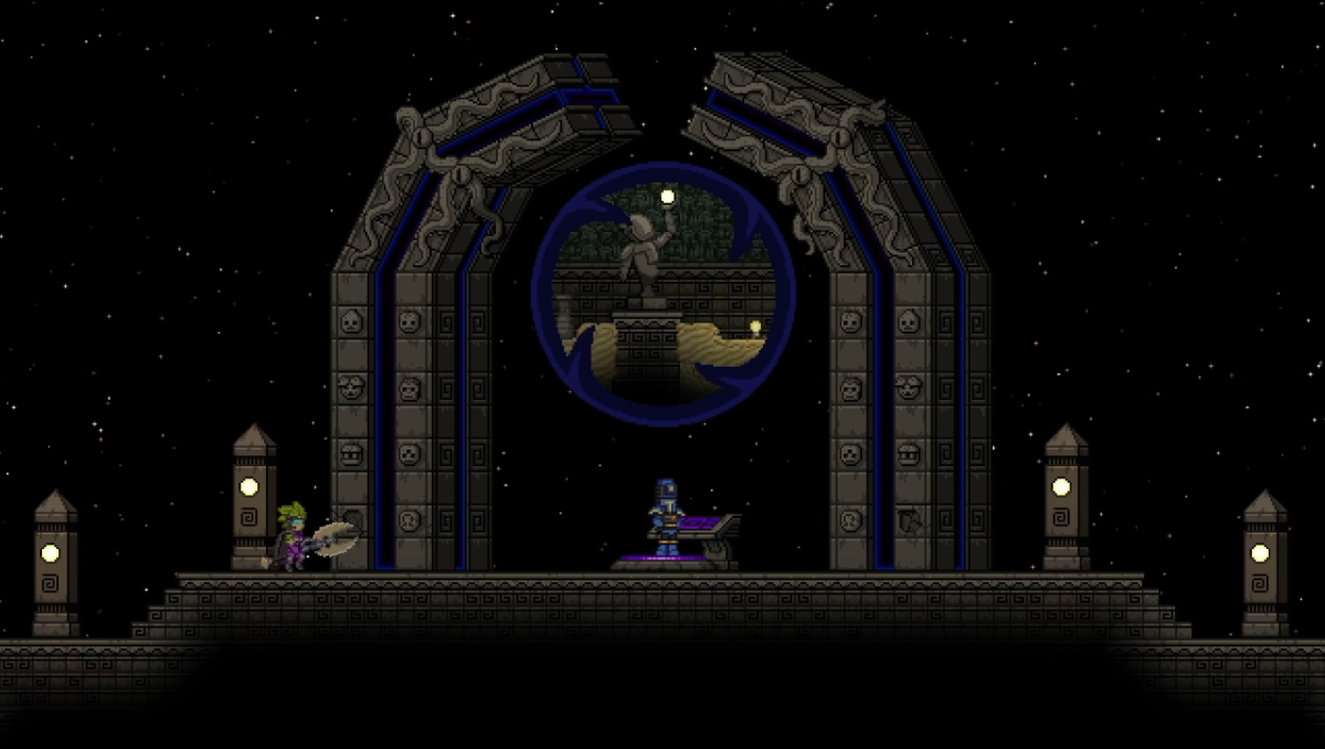 Starbound 39 s vault update adds procedural dungeons for Vault terraform