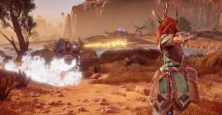 Could this be the next great PlayStation 4 exclusive T3 goes hunting robo dinosaurs with Aloy to find out