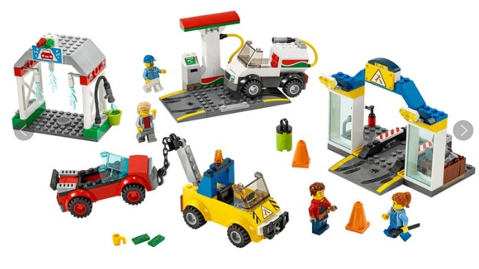 Best Lego City sets: Garage Center