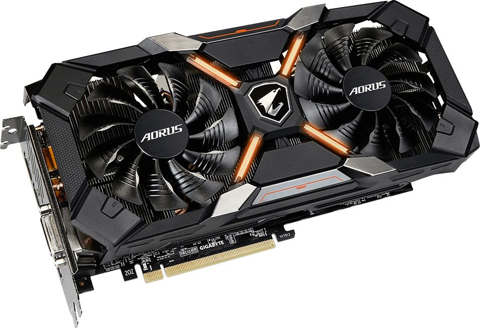 Here are the new Radeon RX 580 graphics cards