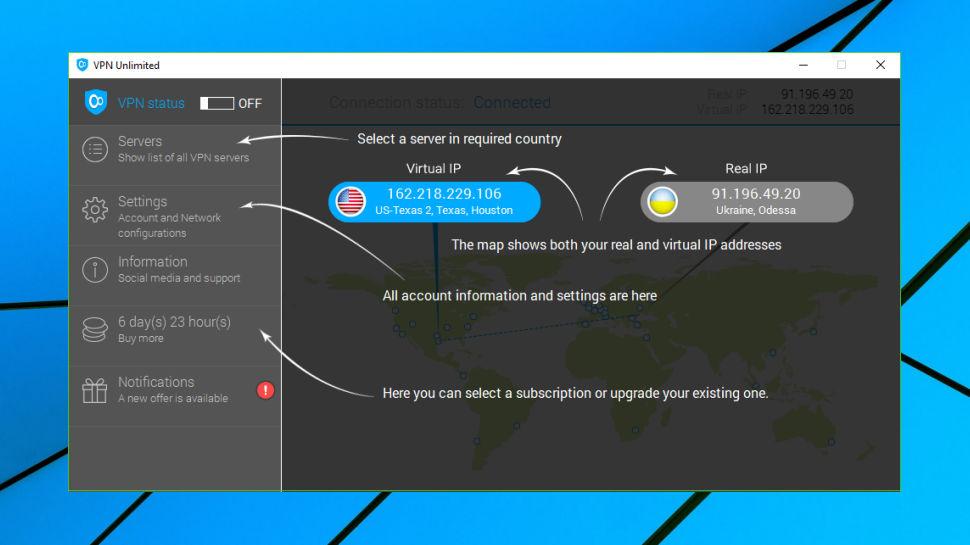 Windows client explained