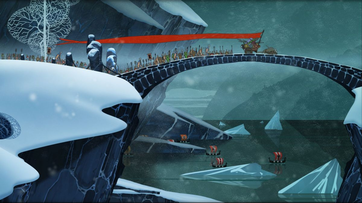 Get The Banner Saga for 75 percent off today