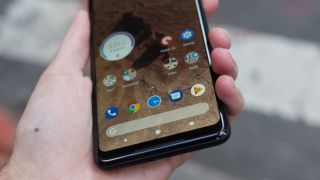 The old Android menu button is lurking in the Google Pixel 2 s interface