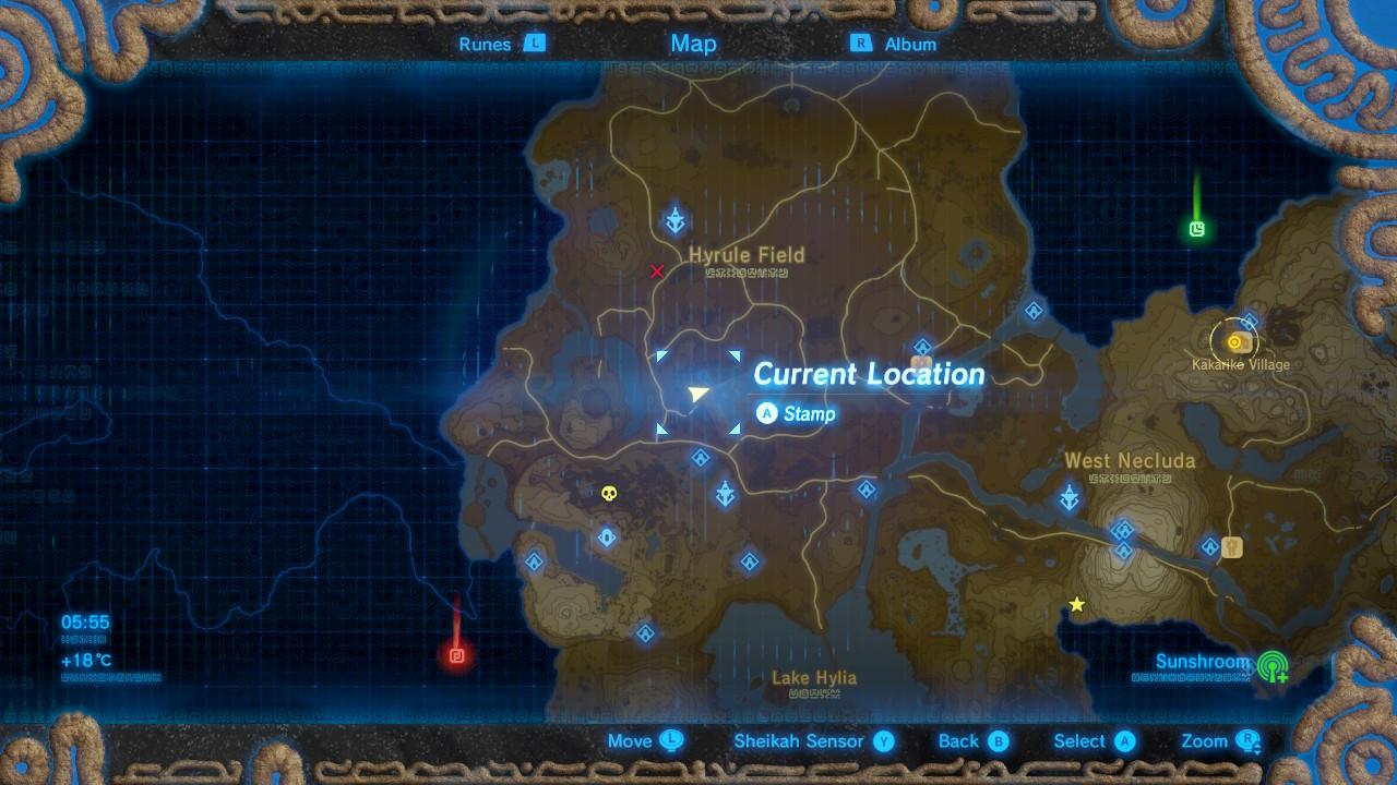 Memory 2 Lake Kolomo The Legend Of Zelda Breath Of The Wild Captured Memories Locations Guide Gamesradar