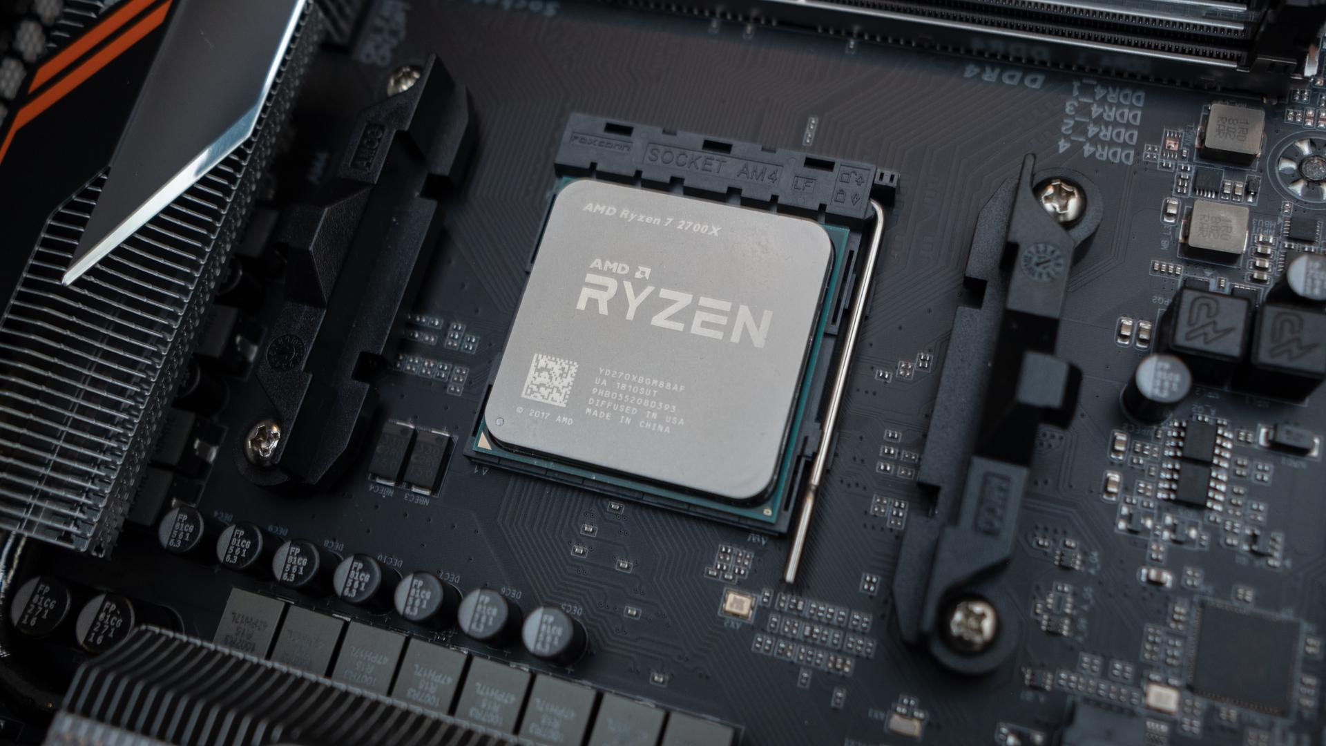 AMD Ryzen 7 2700X Anniversary Edition processor pops up online