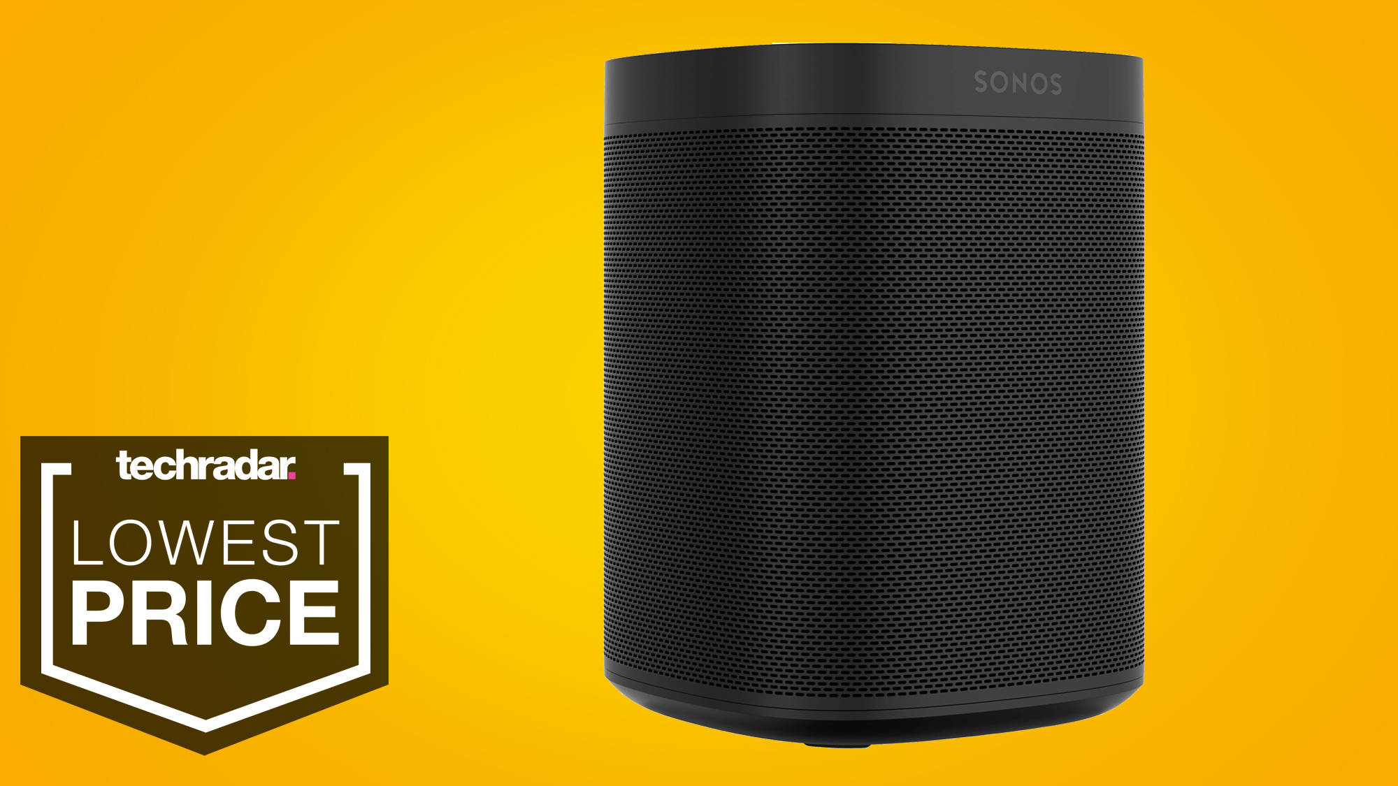 Sonos One equals its lowest ever price in this January sales bargain