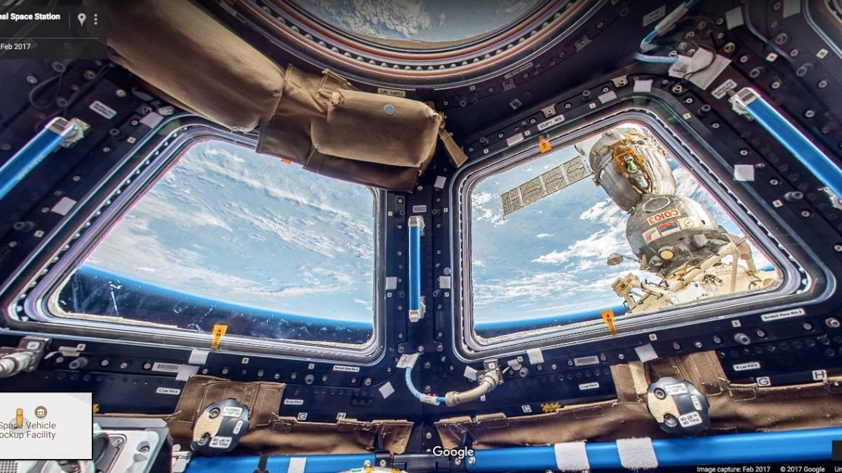 Frontier Internet Deals >> Google Maps now gives you a rare look inside the International Space Station | TechRadar