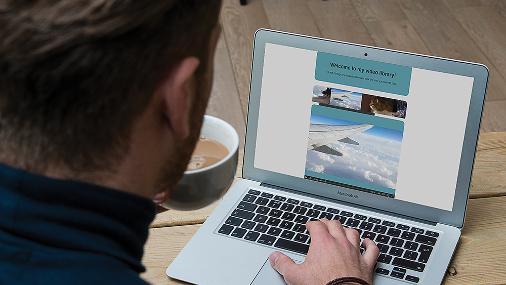 How to work with HTML video