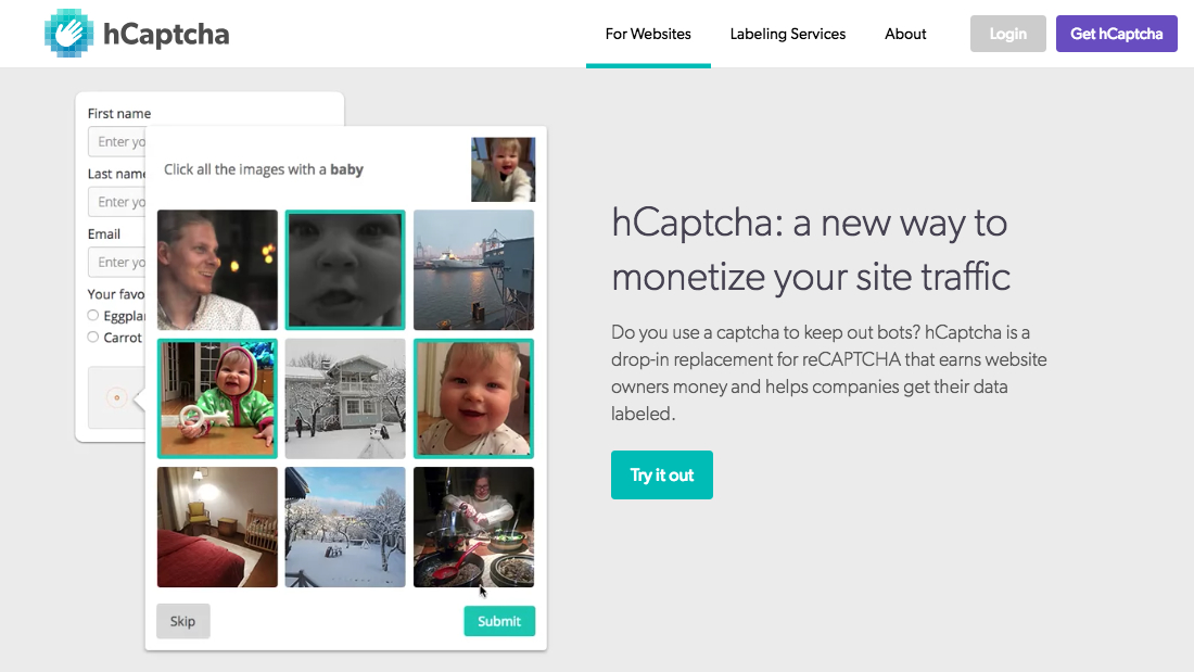 Cloudflare chooses hCaptcha over Google's reCAPTCHA
