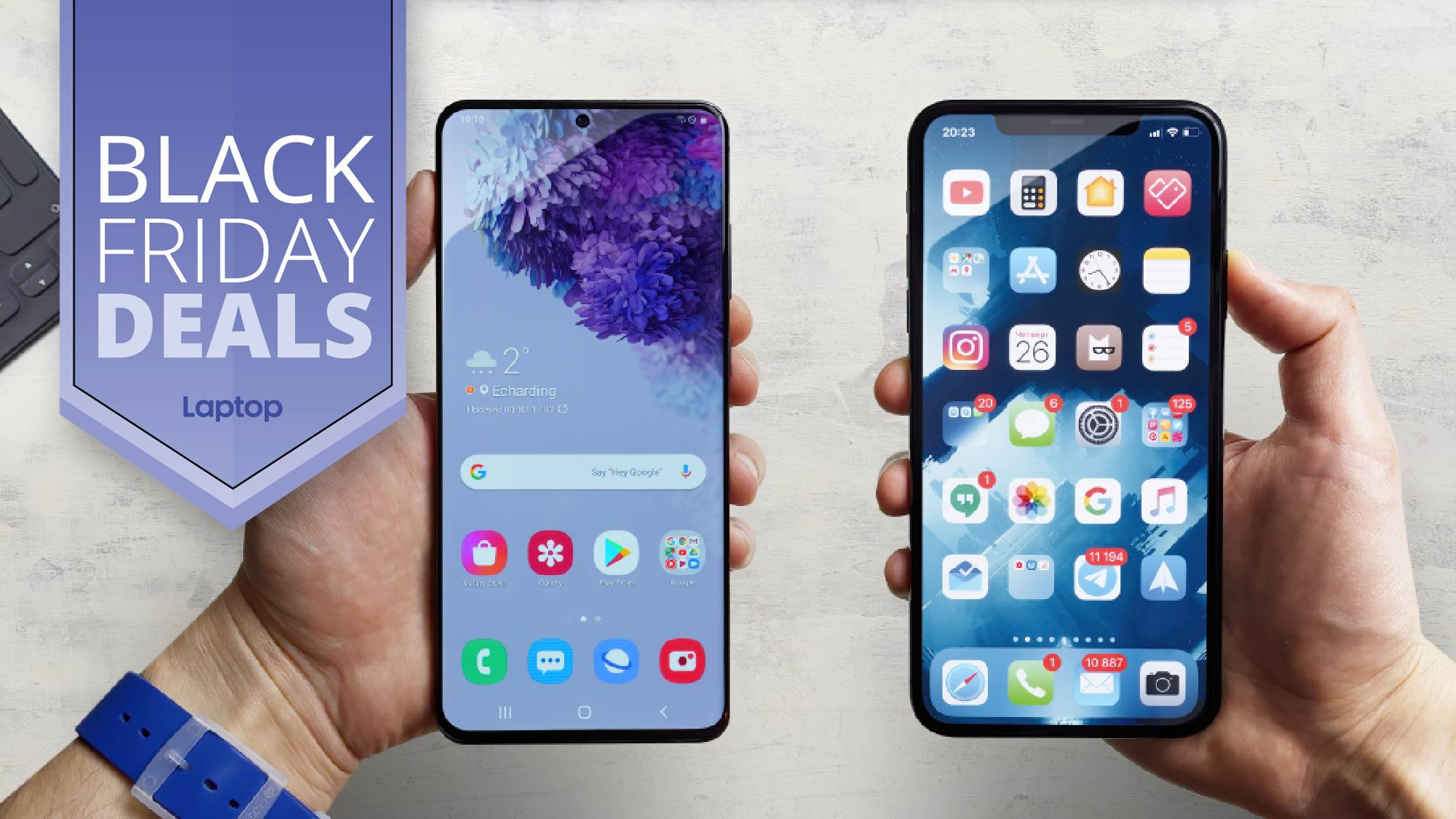Black Friday Phone Deals 2020 Early Sales On Iphone 12 Samsung Galaxy Laptop Mag