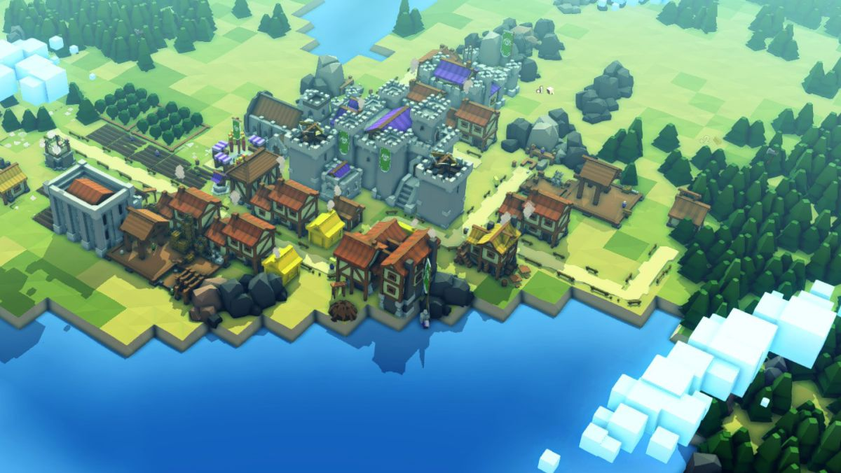 Kingdoms and Castles is a fun and breezy medieval city builder
