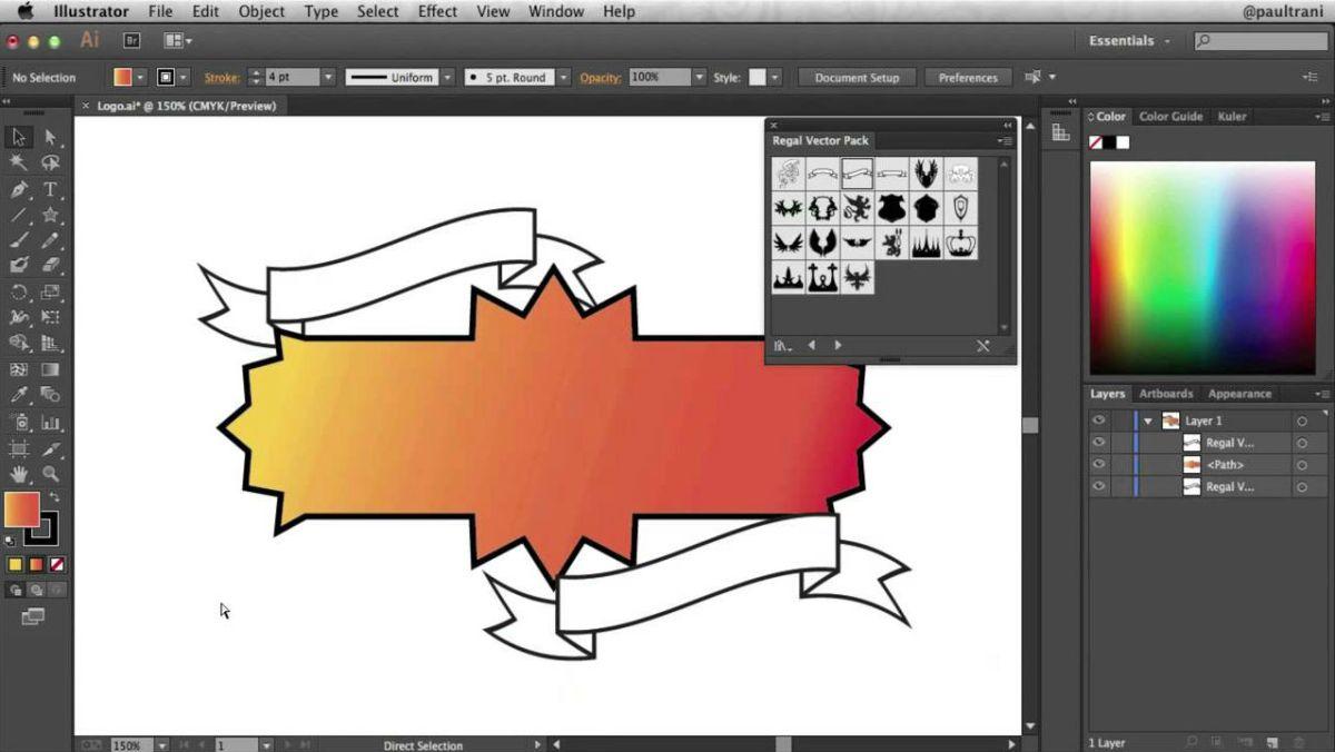 Graphic Design - Magazine cover