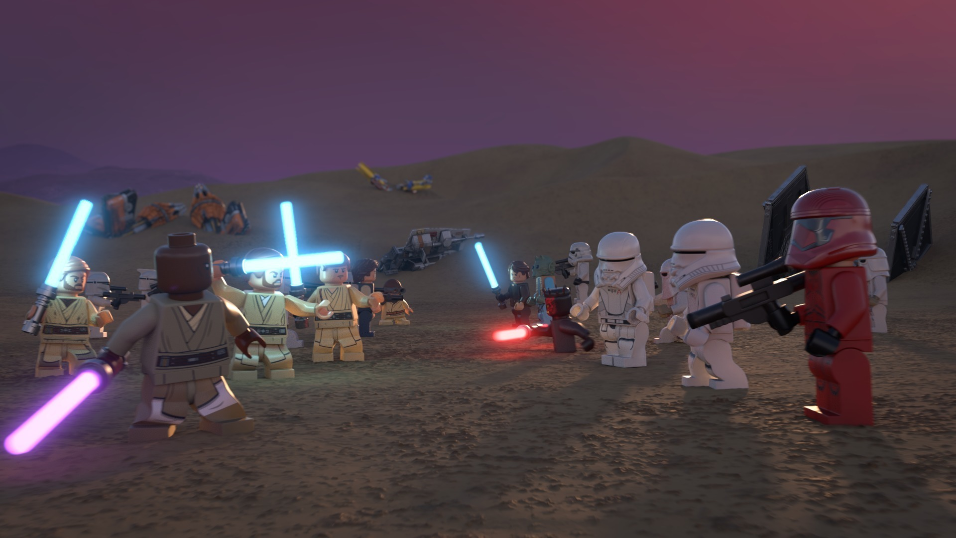 The Lego Star Wars Holiday Special Gets Its First Trailer For Disney Plus Whattowatch