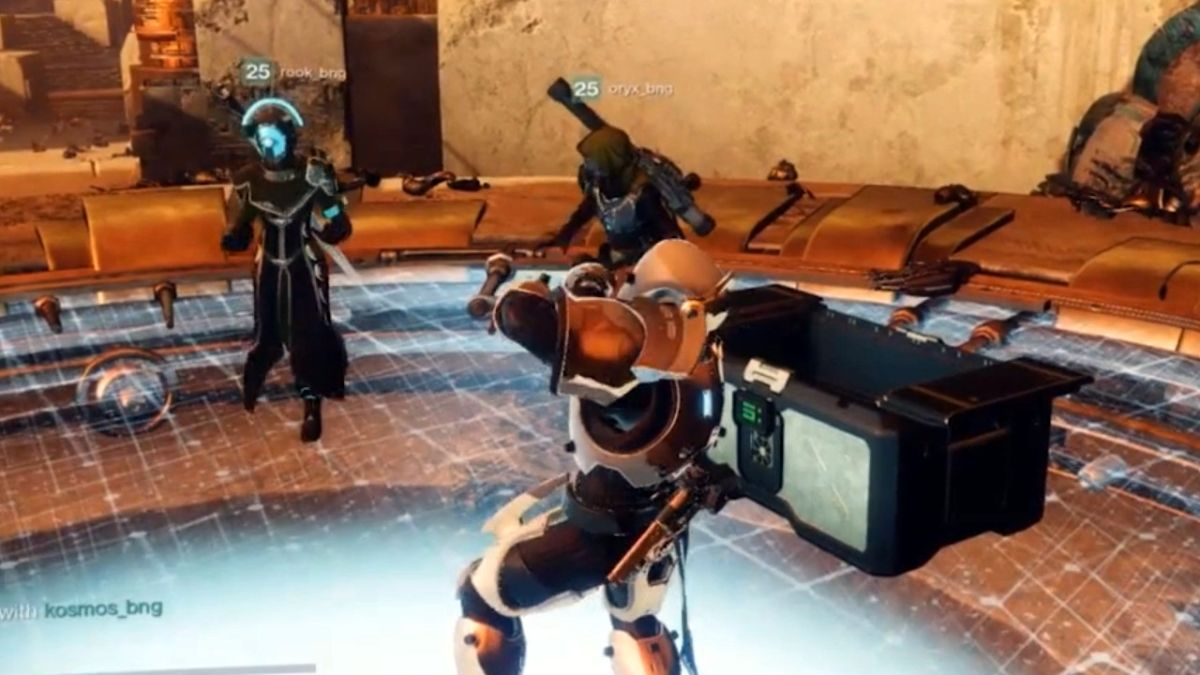 Watch Destiny 2: Curse of Osiris' huge new public event in action
