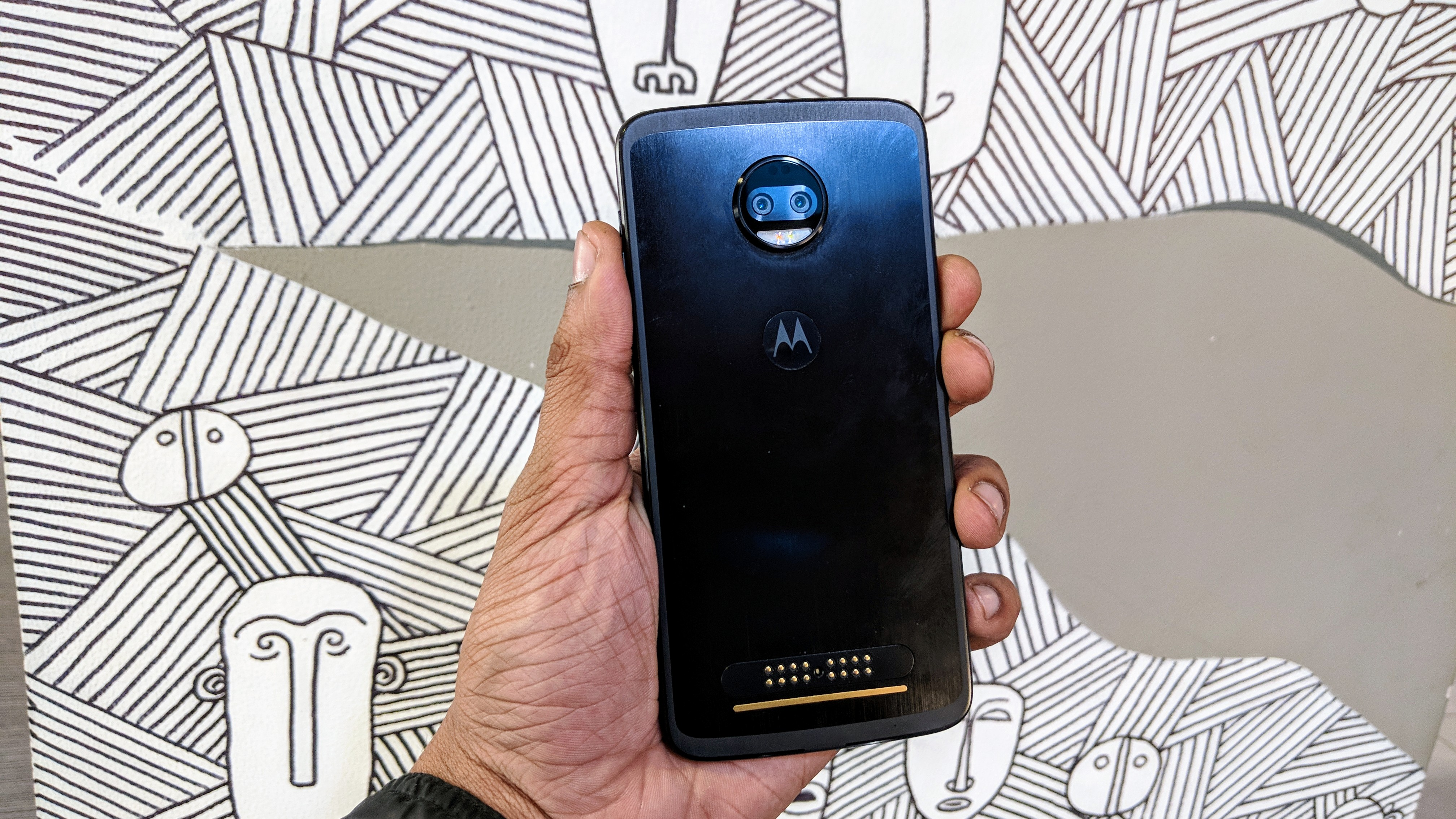 The Moto Z4 could have quad-lens rear camera