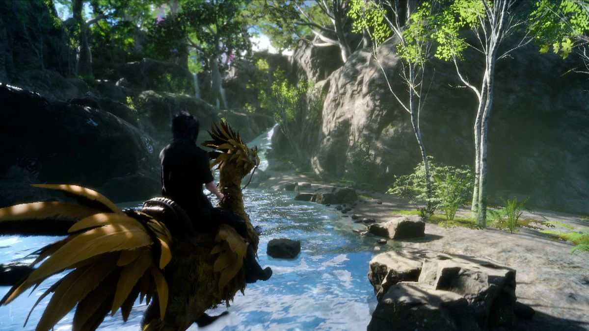 Development on Final Fantasy 15 will continue after the PC launch