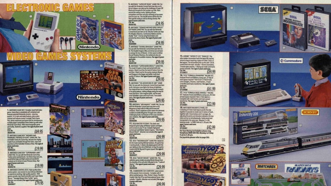 Argos video games