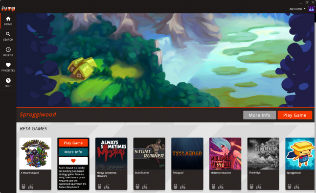 Jump is a subscription service that's 'like Netflix for indie games'