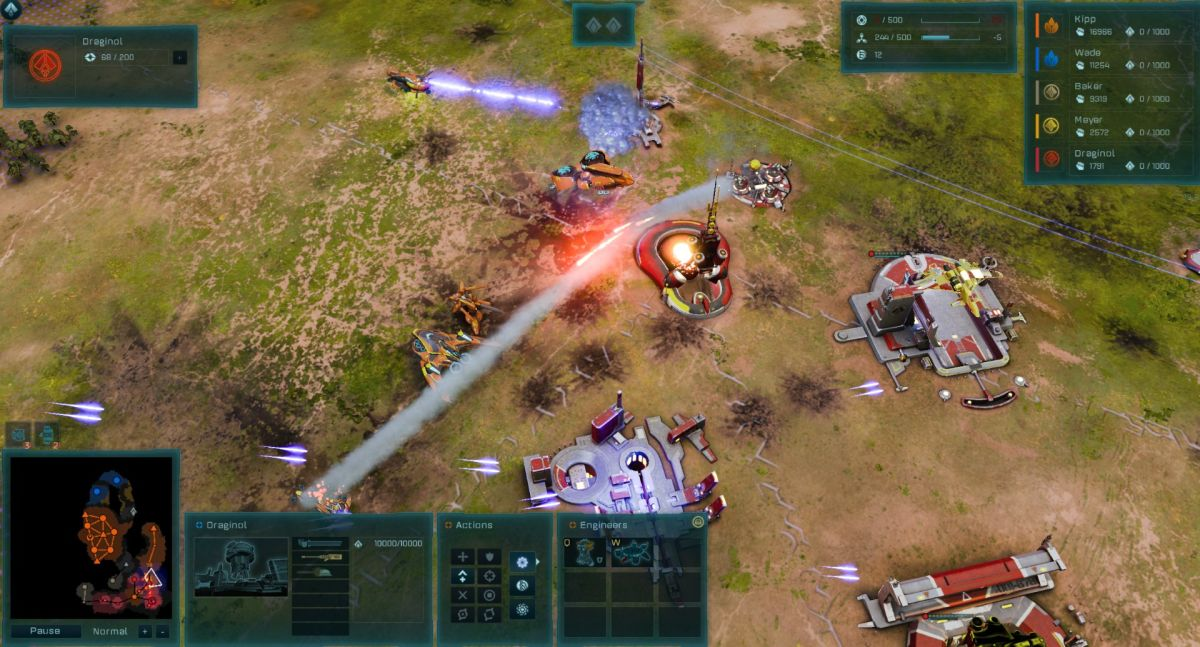 Ashes of the Singularity: Escalation gets replay feature and three new maps