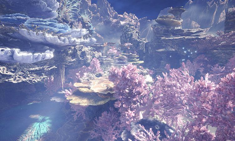 Monster Hunter: World shows off gorgeous Coral Highlands