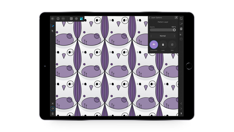 Affinity designer iPad app