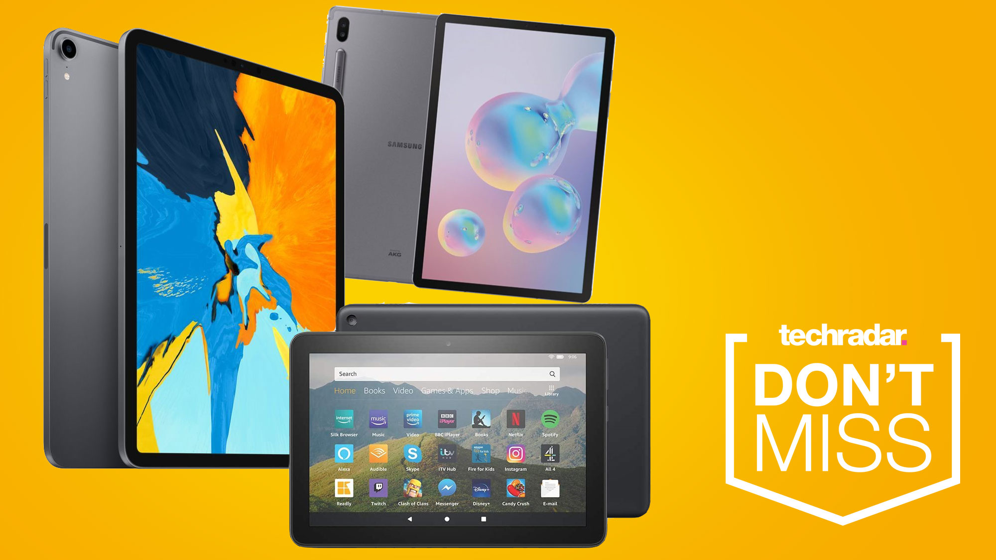 Cyber Monday Tablet Deals The Best Savings On Ipads Fire Tabs And Android Slates Techradar