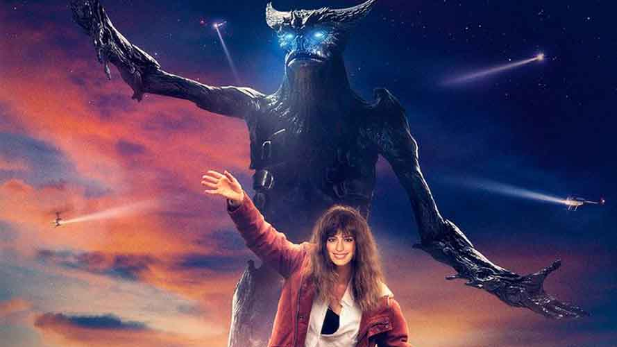 Colossal movie promo shot