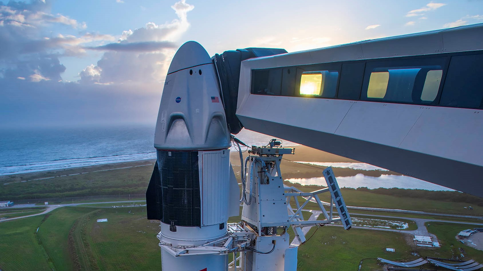 Watch SpaceX launch 4 astronauts to the ISS Saturday QWvnksrpnD28DnBGLBtaum