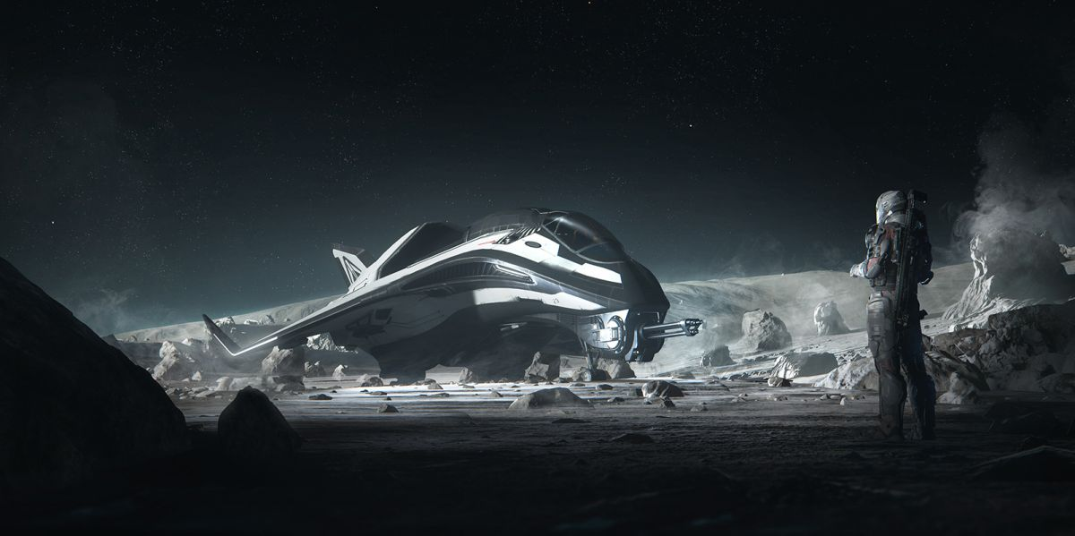 First man on the moon: hands-on with Star Citizen Alpha 3.0