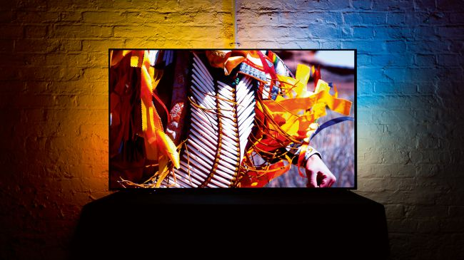 best 65 inch tv Philips Ambilight