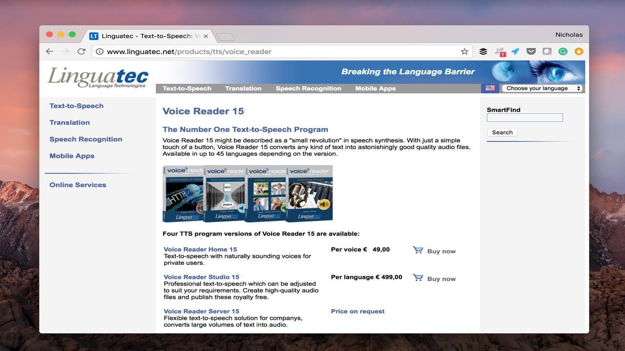 Voice Reader 15