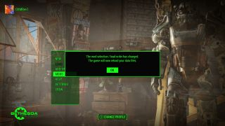 how to change load order for mods on fallout4 ps4