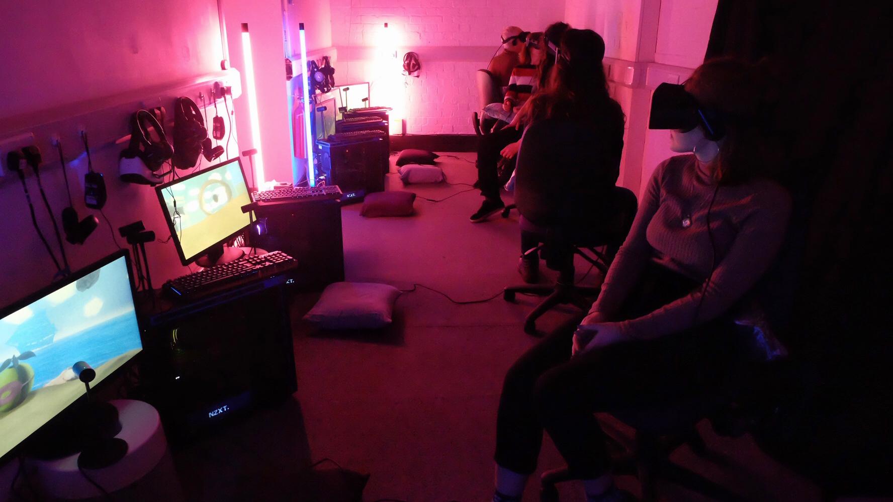 Limina Immersive VR arts event