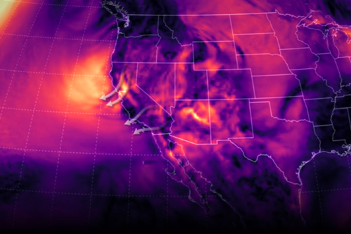 NASA Tracks Diablo Winds Powering Massive Kincade Wildfire in California