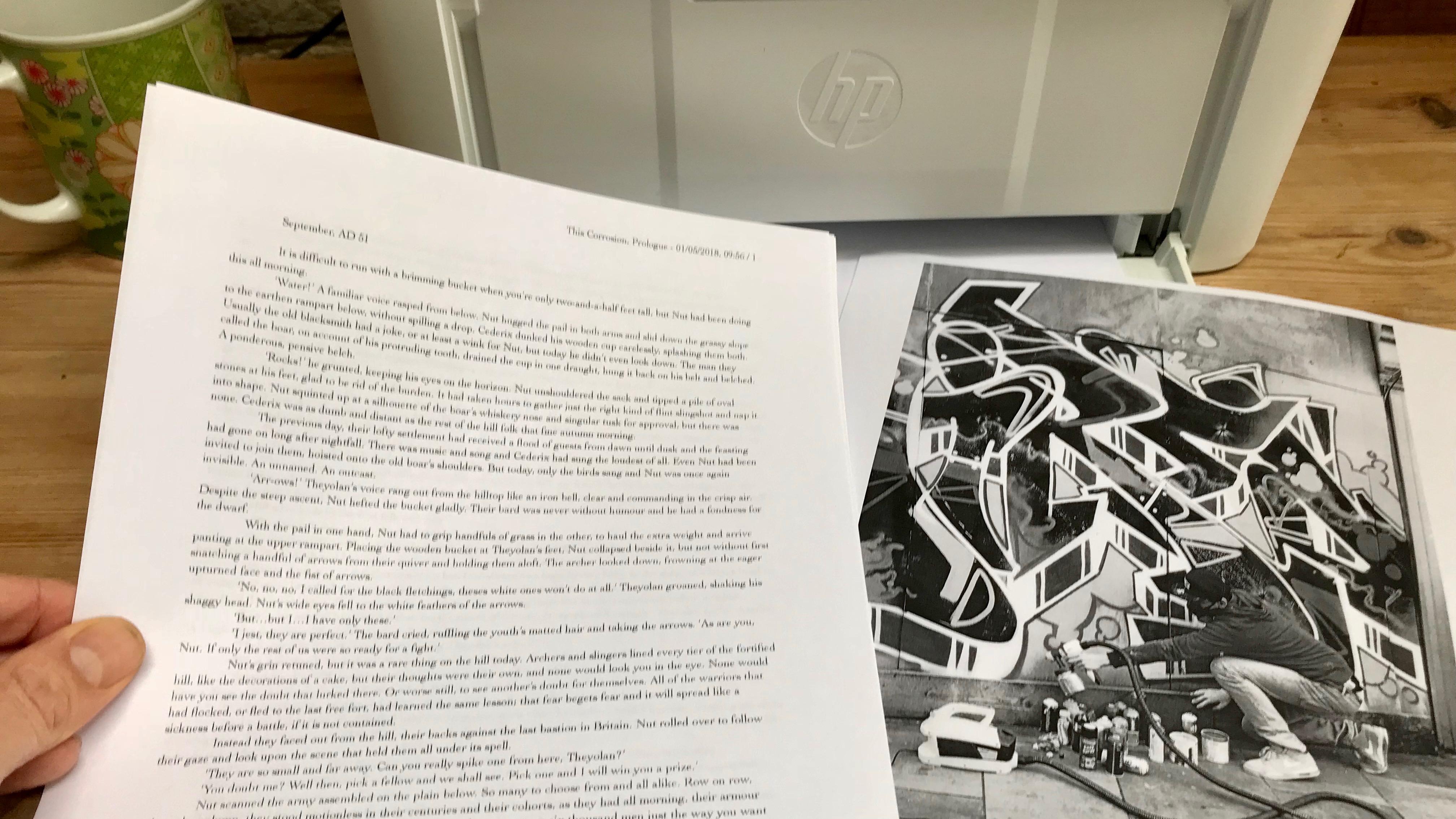 HP LaserJet Pro M15w photographs
