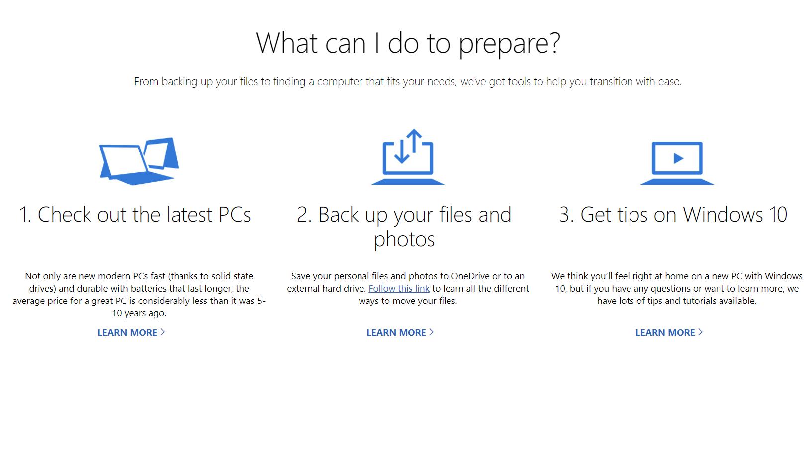Windows 7 upgrade advice