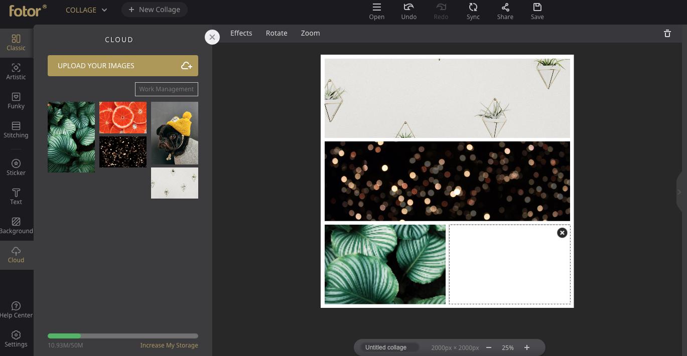 Collage maker: Fotor
