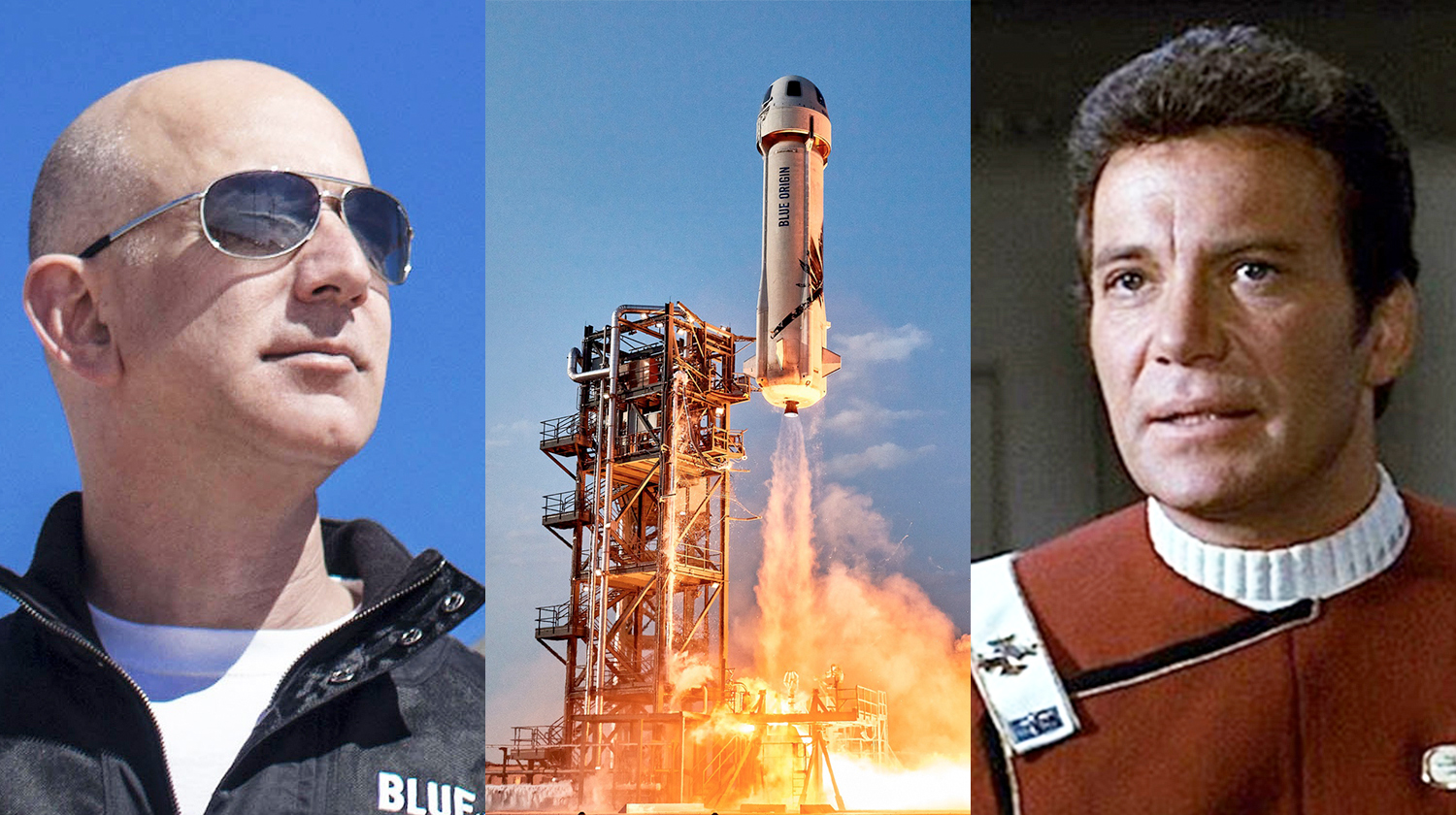 William Shatner's Blue Origin launch delayed to Wednesday attributable to climate thumbnail