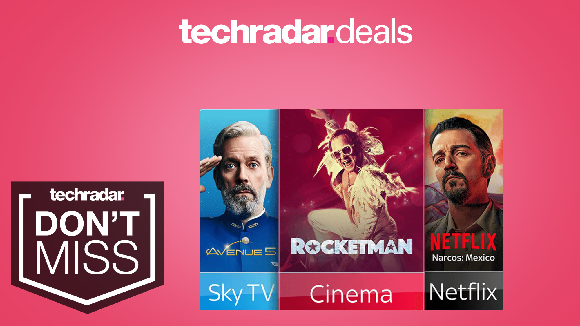 Save £108 with these latest Sky TV deals - get Netflix, Sky Cinema and more