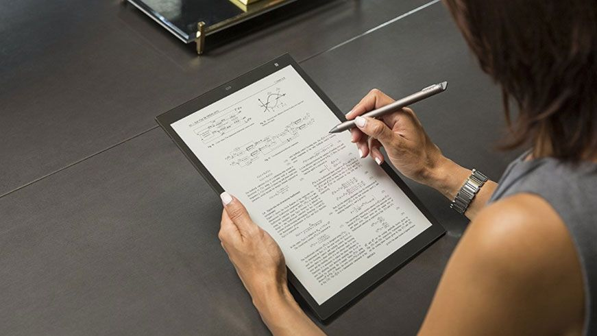 Sony's new Digital Paper e-ink tablet may be the ultimate notepad