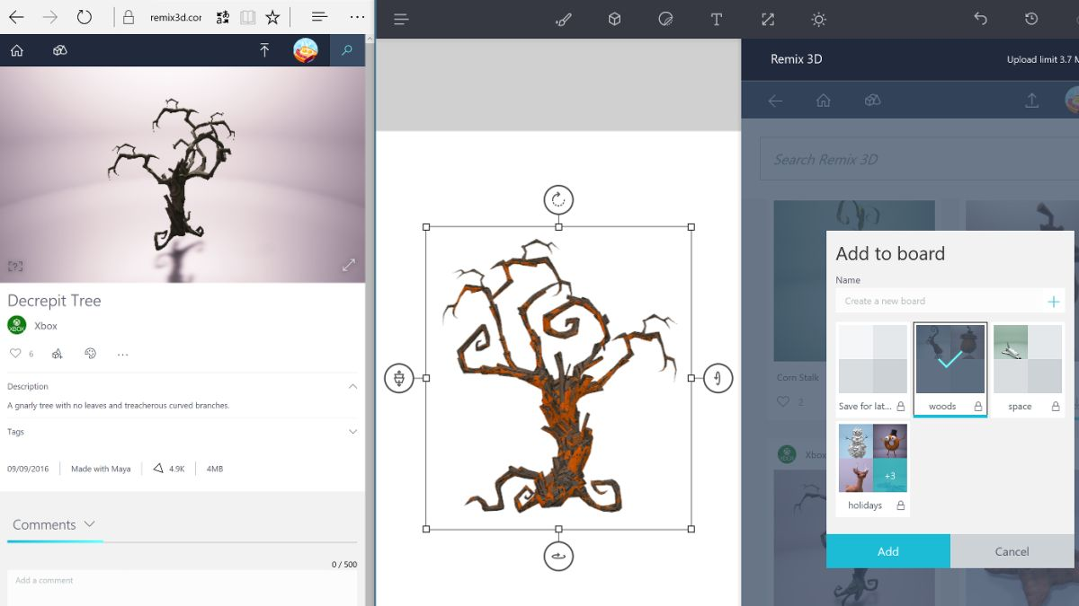 How to use microsoft paint 3d techradar for How to paint 3d